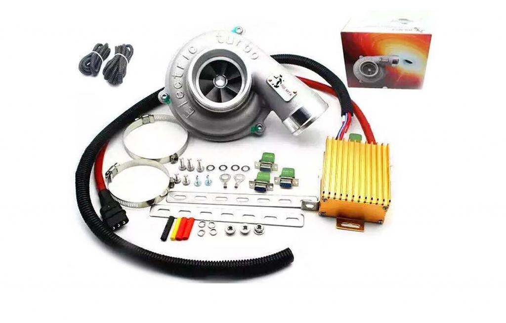 Động cơ tăng áp điện - Các loại Turbo tăng áp