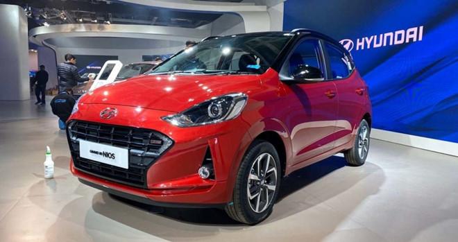 Hyundai Grand i10 tại châu Á lần đầu trang bị động tăng áp