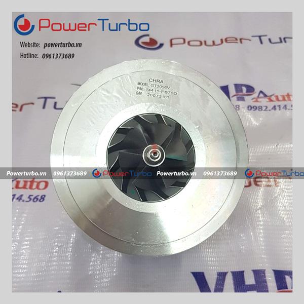 Ruột Turbo tăng áp Nissan Navara D40T - 14411EB70D