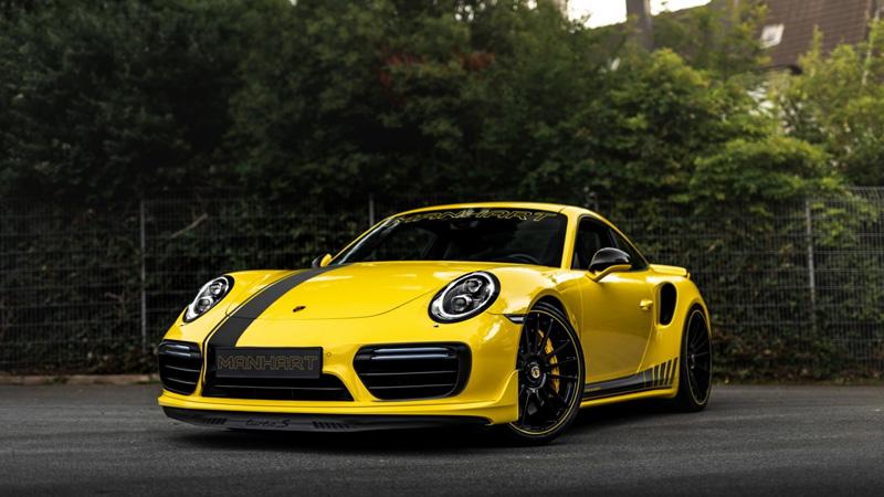 Cận cảnh Porsche 911.2 Turbo S cải tiến động cơ tăng áp kép sở hữu sức mạnh 838 mã lực